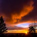 Touch the clouds, Amazing sunset at Langley hill tops B.C. Canada by dpierce6