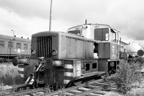 trains deutz saalasti vr valtionrautatiet finnishstaterailways finland shunter diesel pasila helsinki engineshed pieksämäki
