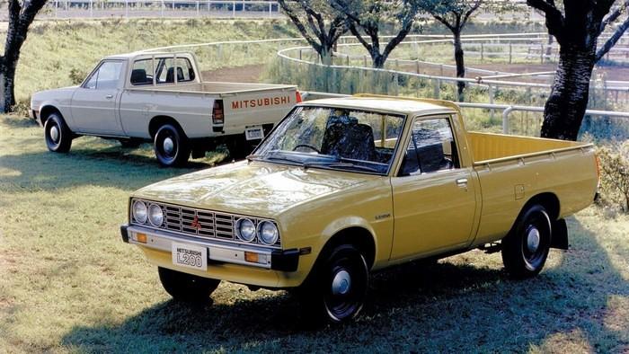 Mitsubishi Pickup Istorija 6