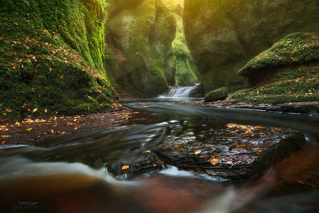 'Chocolate Swirl' - The Devils Pulpit, Finnich Glen