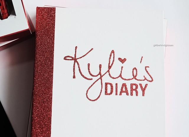 Kylie Cosmetics Kylie's Diary2