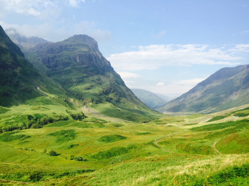 The Highlands in Scotland (photo credit: Melanie Lambrechts).