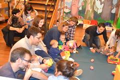Bebencontros na Biblioteca Infantil e Xuvenil. Xaneiro 2017: 0-12 meses