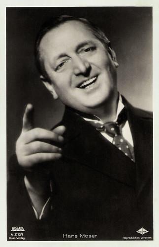 Hans Moser in Anton, der Letzte (1939)