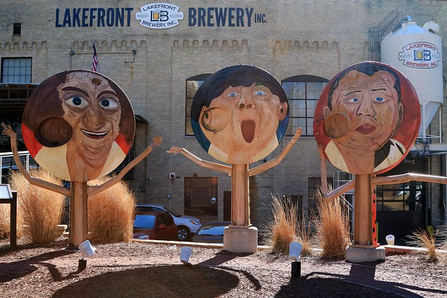 The Crew at Lakefront Brewery