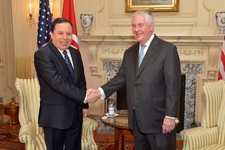 Secretary Tillerson Meets With Tunisian Foreign Minister Jhinaoui in Washington