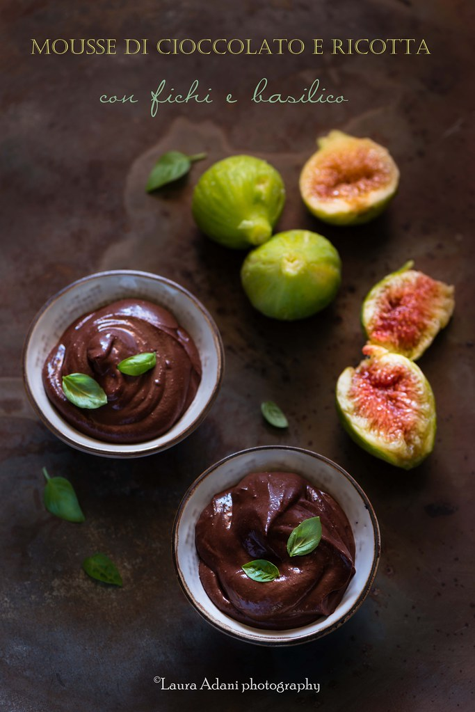 chocolate and ricotta mousse