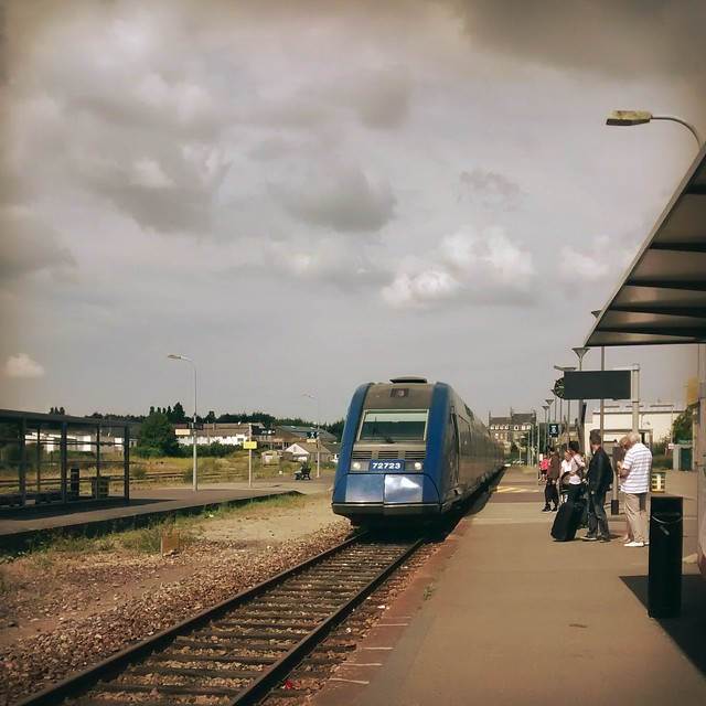 Train to Paris from Flers
