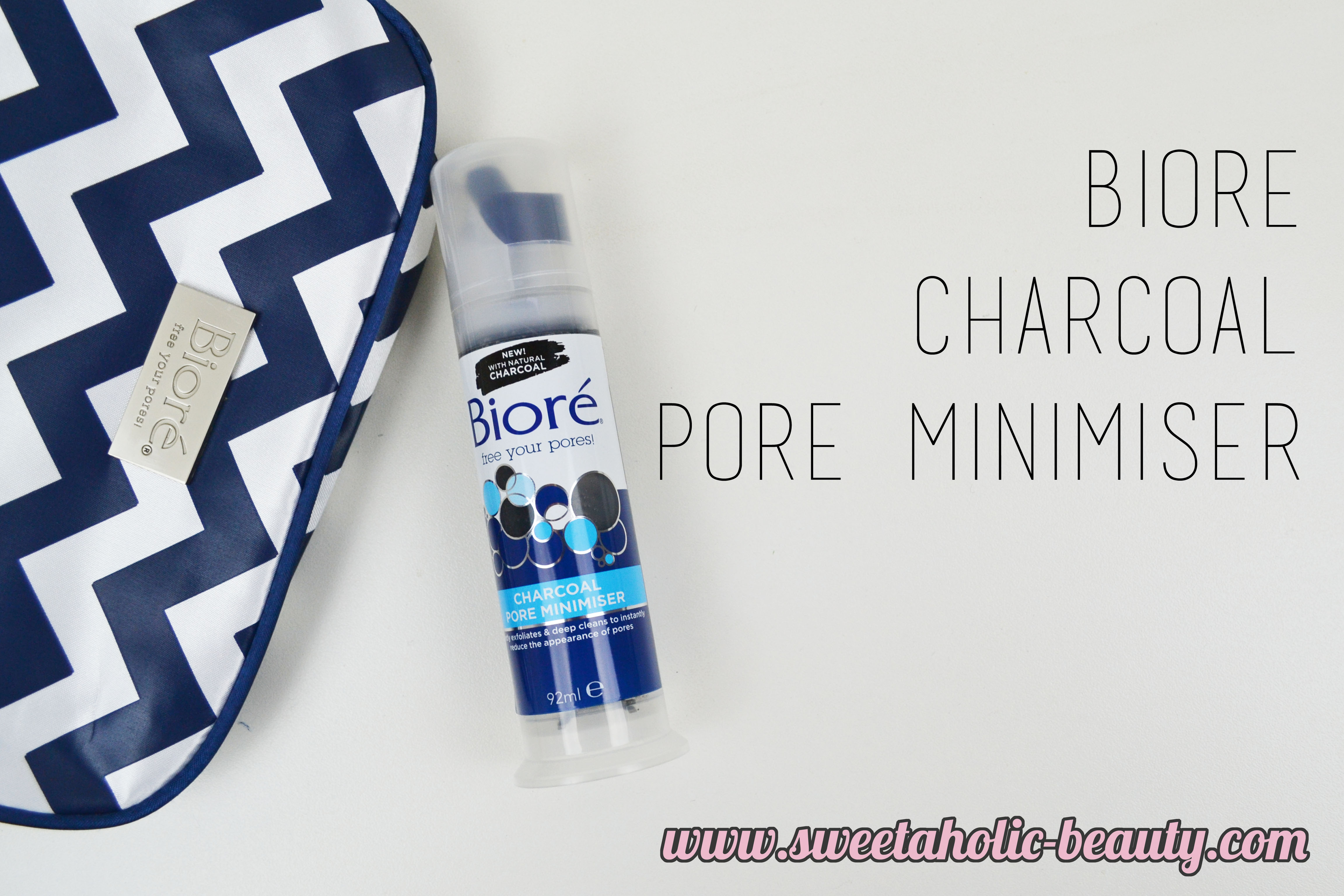 Biore Charcoal Pore Minimiser Review - Sweetaholic Beauty