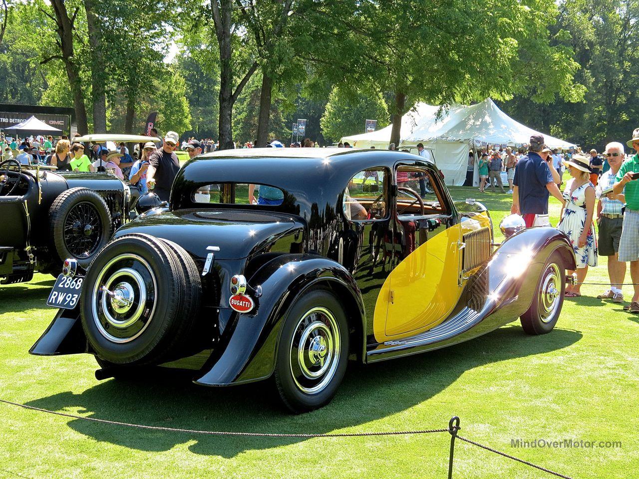 Bugatti Type 57 Concours Of America