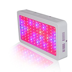 WYZM 300w LED Grow Light Panel for Veg/Flowering 9 Band Wavelength Hydroponic Growing Lamp