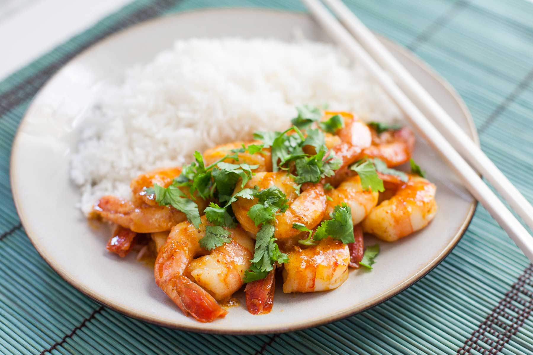 Curry Butter Shrimp | acalculatedwhisk.com