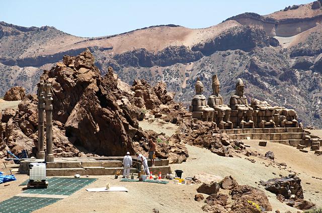 Clash of the Titans set, Teide National Park, Tenerife