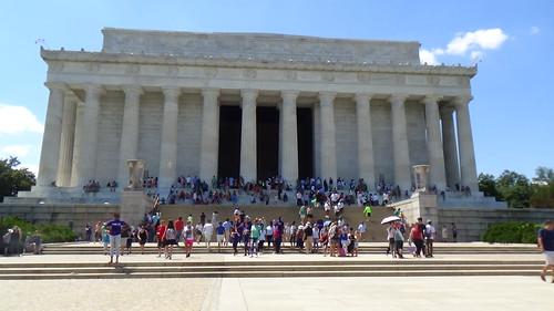 Washington DC Lincoln Memorial Jul 15 1