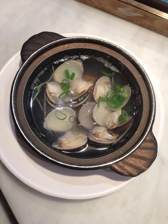 鮮蛤蜊清湯