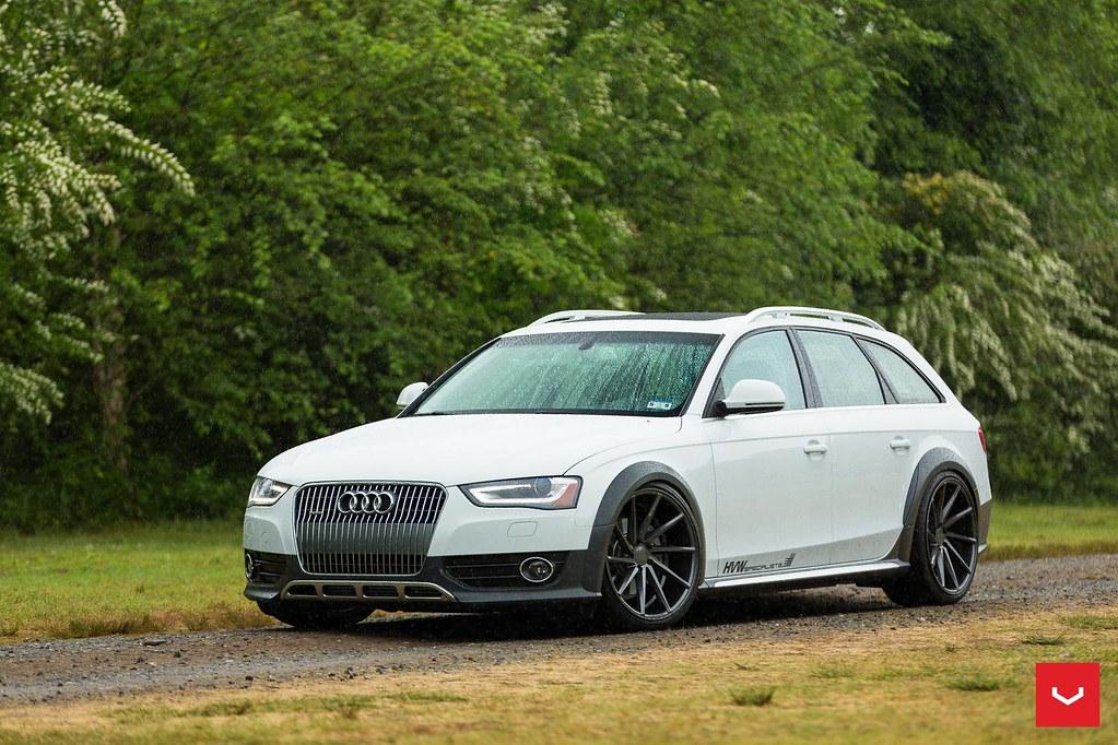 Audi Allroad 20 Quot Gloss Graphite Cvt Vossen Wheels