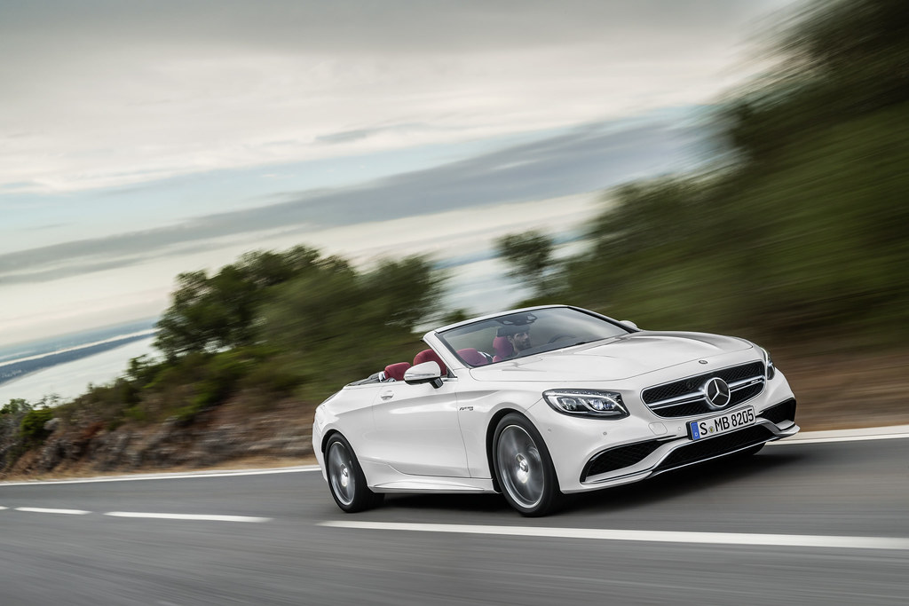 This is the 2017 Mercedes-Benz S-Class Cabriolet