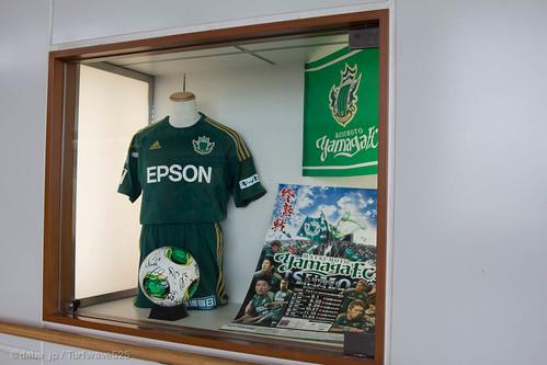 20130922 松本駅 松本山雅FCショーケース / Matsumoto Sta.