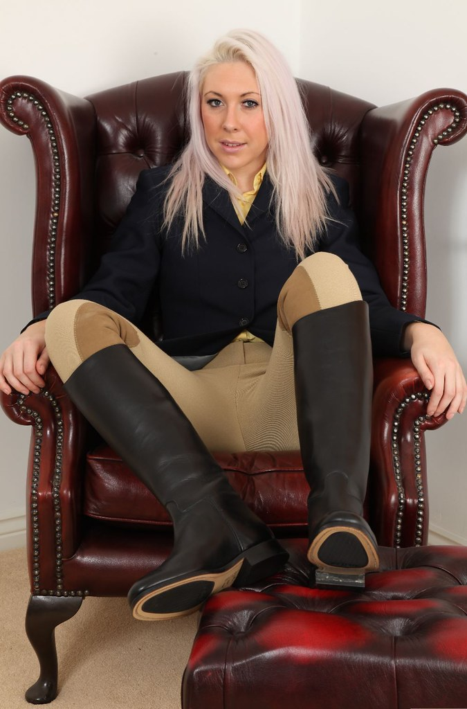 Ladies Fashion Riding Boots