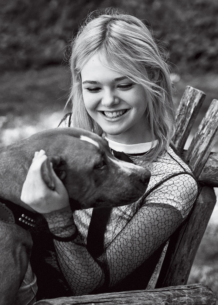 Эль Фаннинг — Фотосессия для «Teen Vogue» 2015 – 3