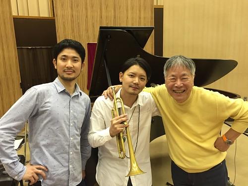 "Shipped Ruike at NHK-FM radio program ""Jazz Tonight"" will be on air Oct.3rd !!"
