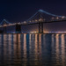 reillumination of the bay bridge lights - test l by pbo31