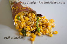 Sweet Corn Sundal
