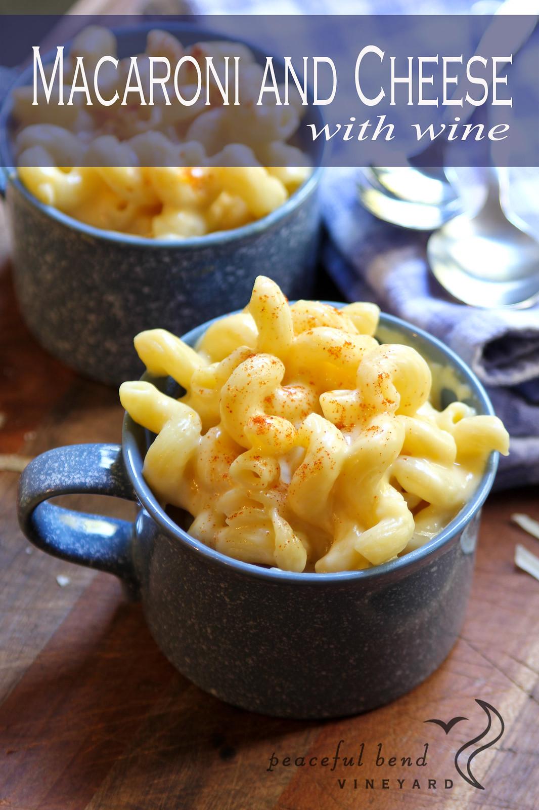 Macaroni & Cheese with Wine