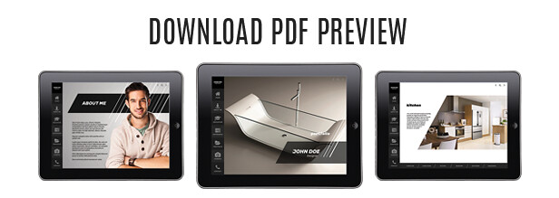 Interactive PDF Prezentation Bundle iPad and Retin