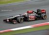 Romain Grosjean, Lotus-Renault E21, 2013 British Grand Prix, Silverstone, 28th June