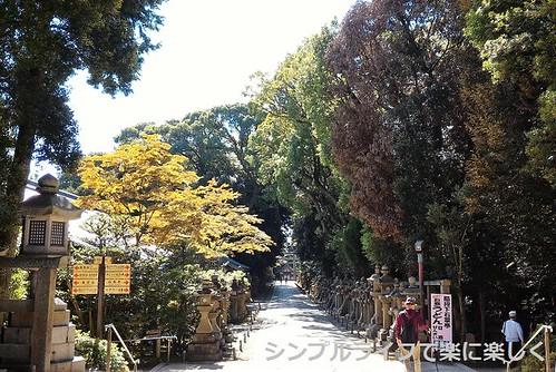 石清水八幡宮、参道
