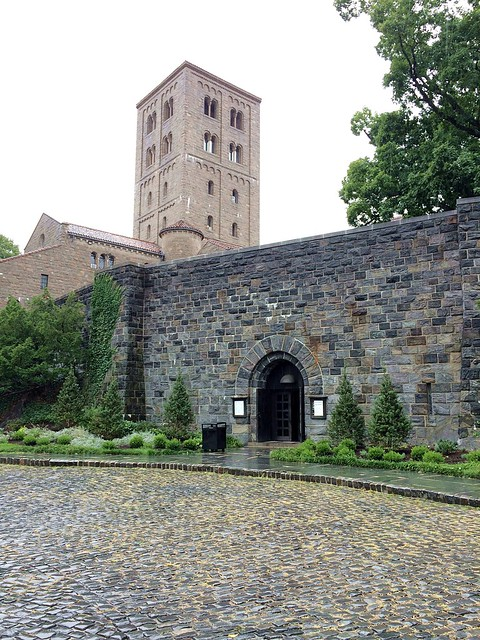 outside the Cloisters