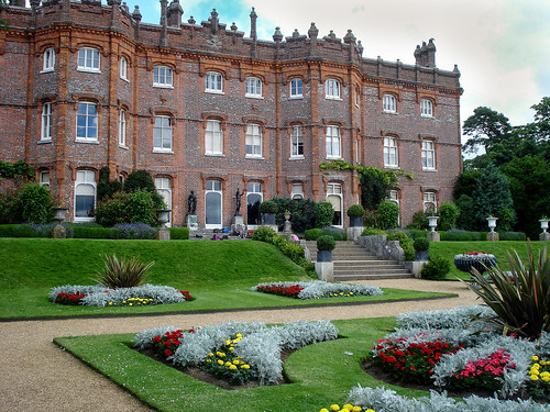 Hughenden Manor from the garden