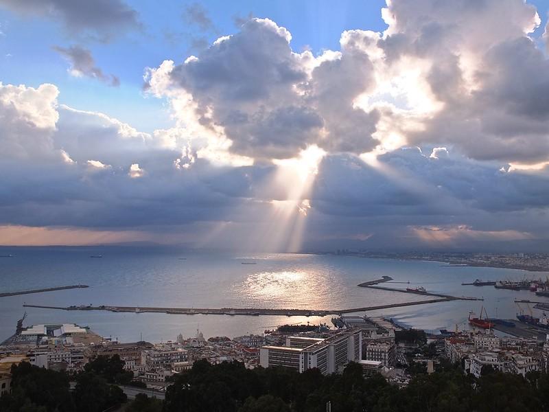 Algiers, rainy and sunny