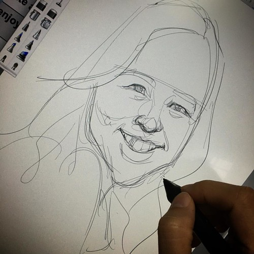 Easier face to be sketched.....