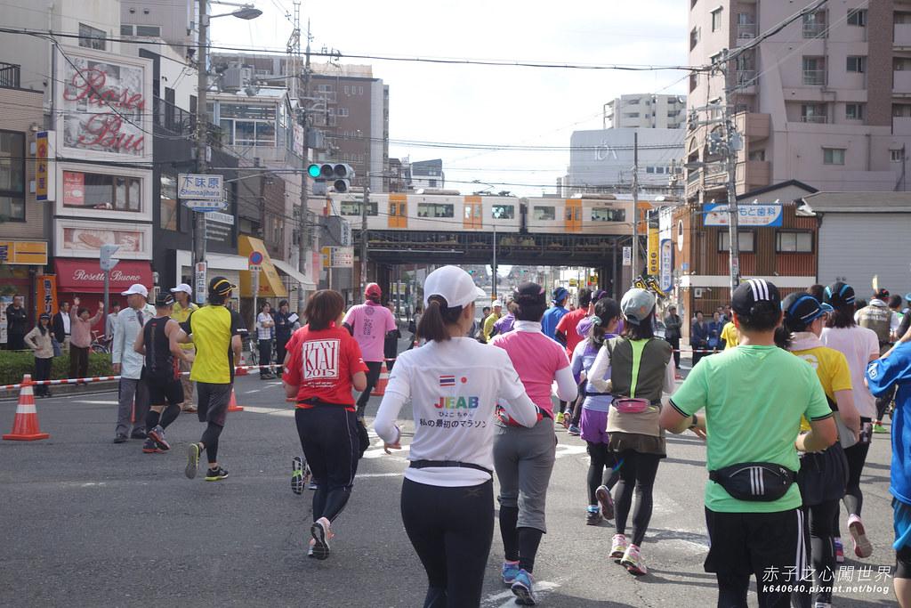 大阪馬拉松-跑步-12