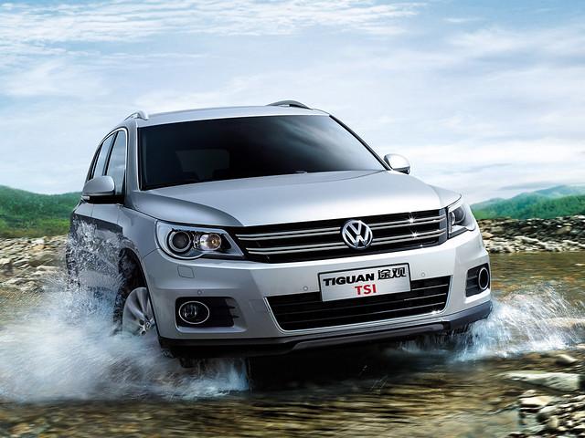 Кроссовер Volkswagen Tiguan для рынка КНР. 2009 – 2013 годы