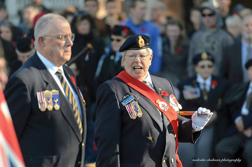 Lake Cowichan Remembrance Day 2015