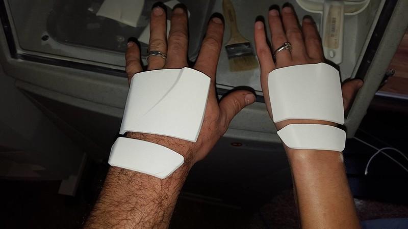 Handplate Test Fit 1