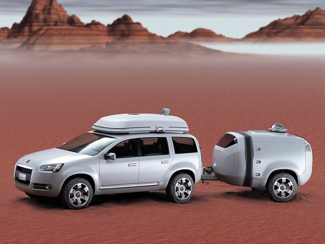 Volkswagen Magellan Concept. 2002 год