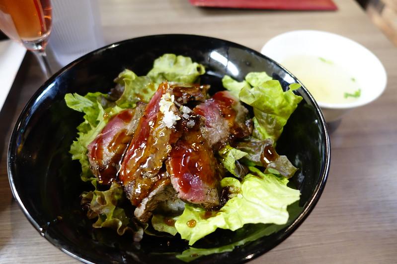 サーロインステーキ丼