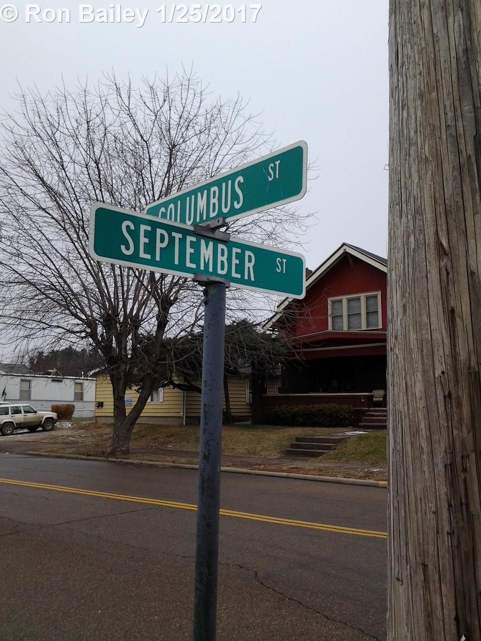 Street Sign, Nelsonville, OH