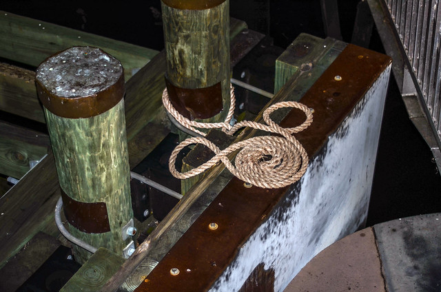 Mickey rope dock