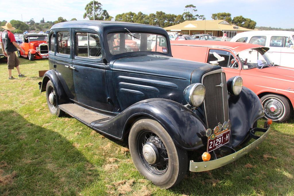 1934 Chevrolet DC Standard Sedan | General Motors was founde