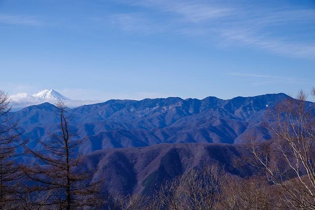 富士山と大菩薩連嶺