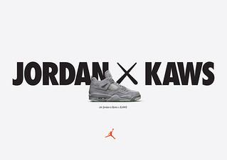 JORDAN × KAWS【籃球之神與潮流塗鴉大師的完美結合】當Jumpman 碰上XX!!!