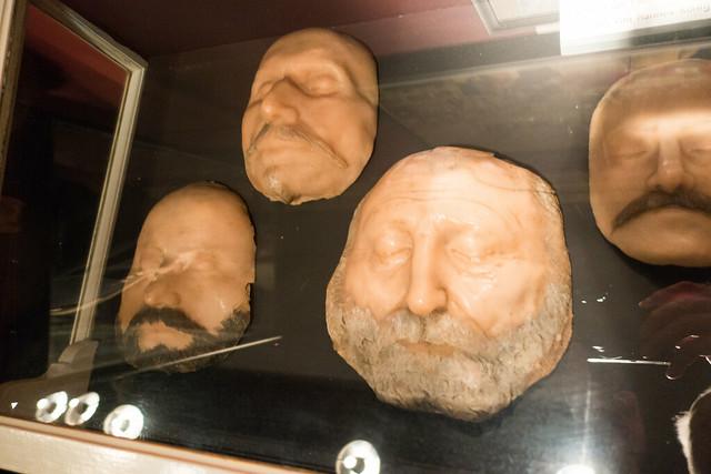 Waxen faces
