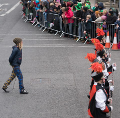 DeKalb High School Marching Barbs [Marching In The Dublin 2012 Patricks Day Parade]-125874
