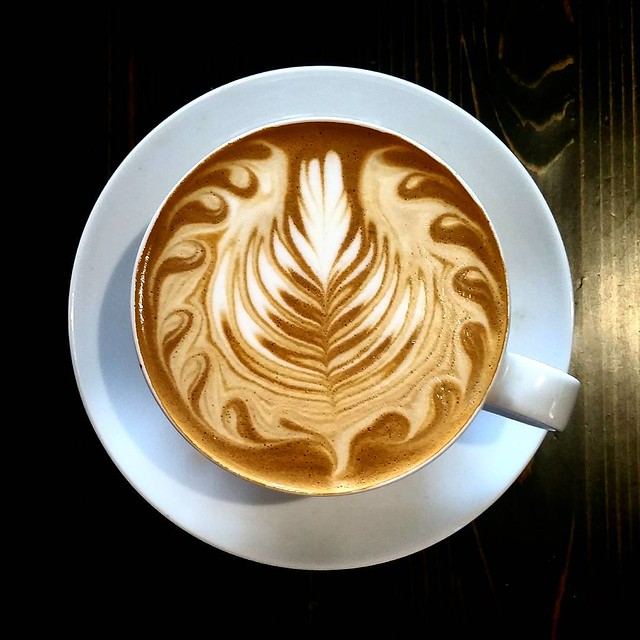 Come and have a delicious small latte today. Totally Terrific and Tasty Toast espresso is On Tap! #espresso #latteart #caffedbolla #slc #coffee #roaster