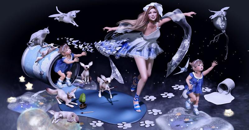 Amelie et les petites: Paint your dream